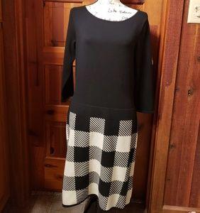Cute vintage, Ralph Lauren checkered sweater dress